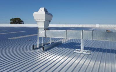 Relacja z instalacji klimatyzacji w fabryce przemysłowej